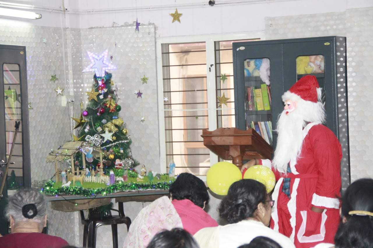 Christmas Day Celebration at Shanthibhavan (21st December, 2018)